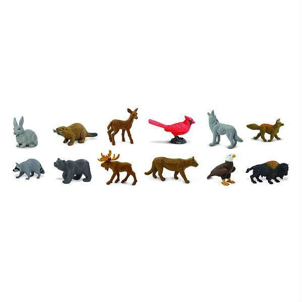 Animale din natura - Set 12 figurine [0]