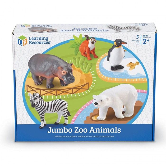 Animale de la Zoo - Set figurine mari 2