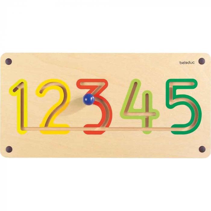 Aplicatie de perete Numere 1-5 [0]