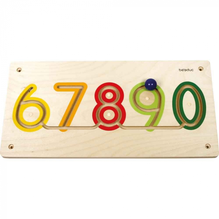 Aplicatie de perete Numere 6-9 1