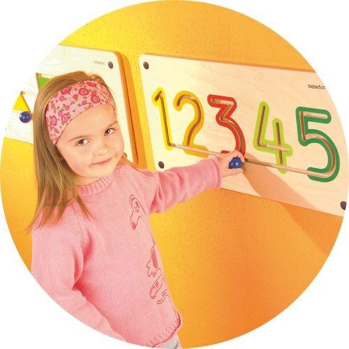 Aplicatie de perete Numere 6-9 0