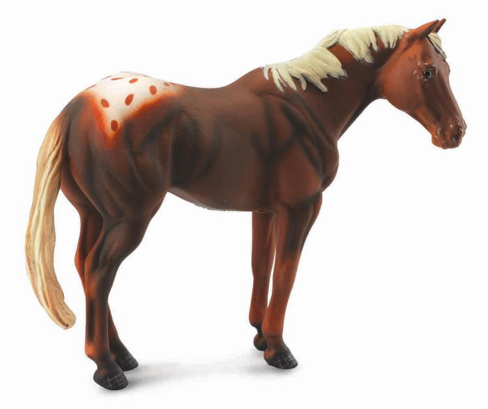 Armasar Castaniu - Animal figurina 0