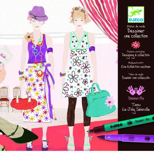 Atelier de moda fii designer! - Set creativitate si indemanare 0