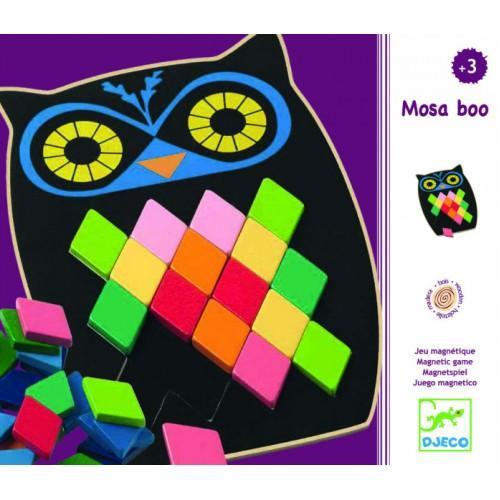 Puzzle mozaic Bufnita