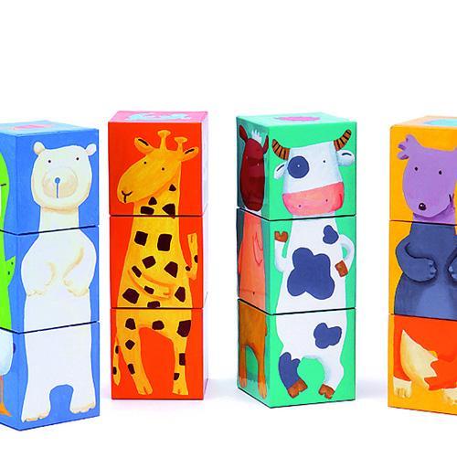 Cuburi animale amuzante 0