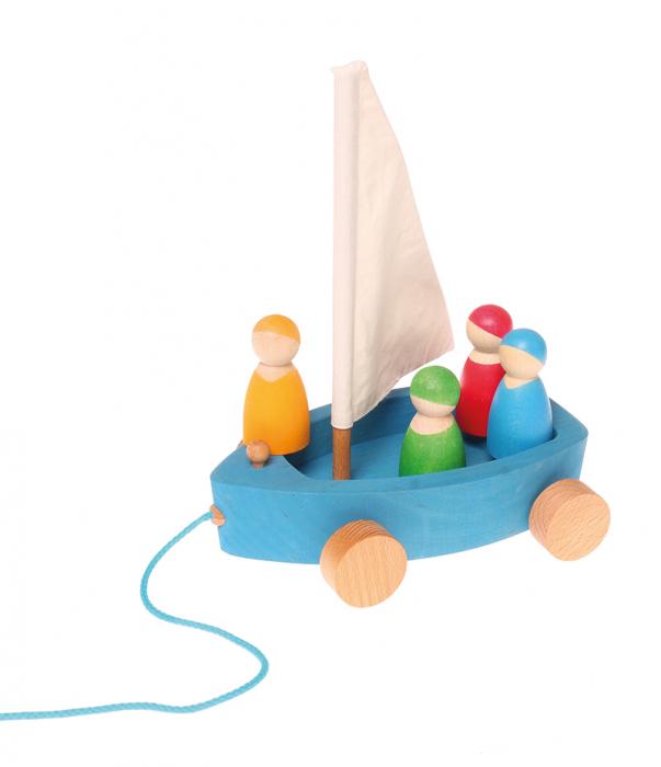Barcuta cu 4 marinari 0