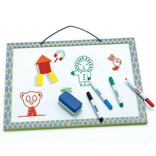Tabla magnetica - Set desenat si colorat pentru copii 0