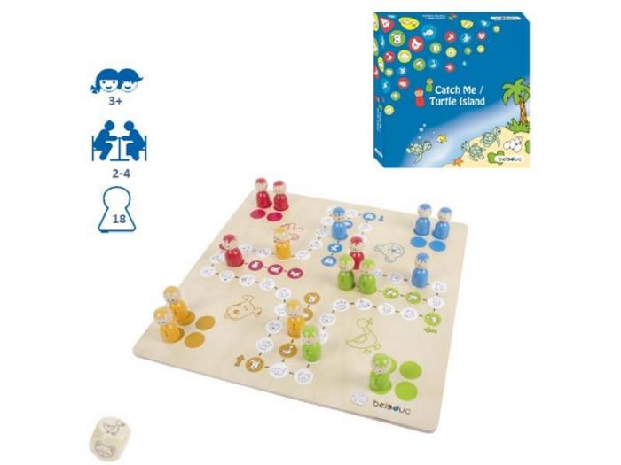 Set 2 jocuri - Nu te supara frate si Insula Testoaselor - marca Beleduc 3
