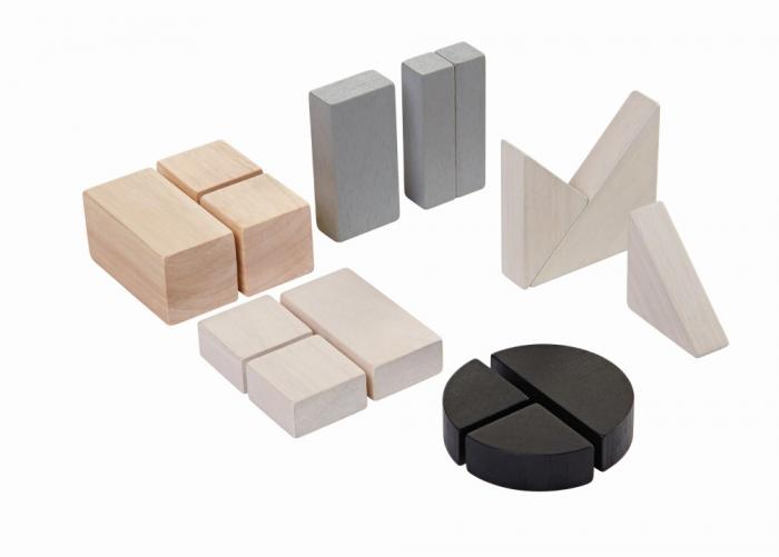 Blocuri cu fractii - Invatarea proportiilor cu piese din lemn [0]