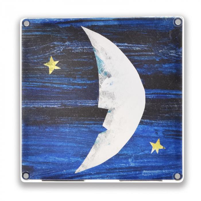 Set de constructie piese magnetice, CreateOn Magna-Tiles -  Tati, te rog, adu-mi luna de pe cer By Eric Carle, 16 piese 7