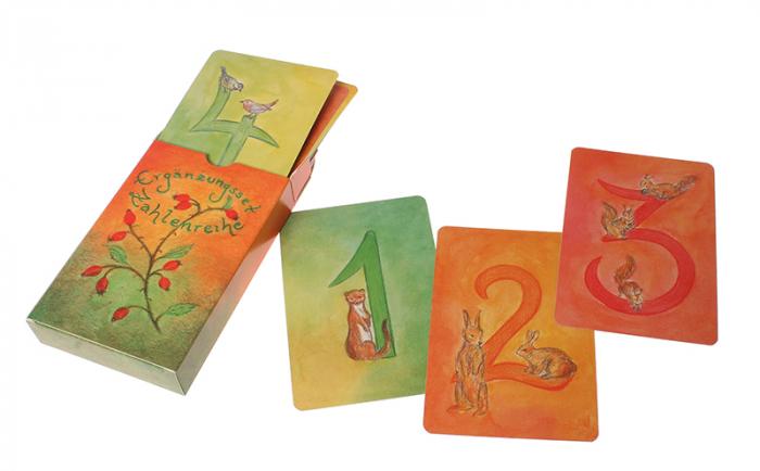 Carduri pentru invatat numerele kit suplimentar 2