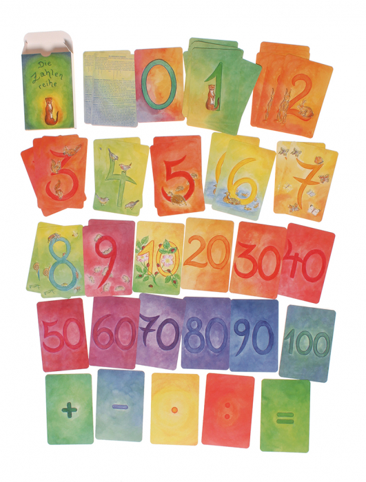 Carduri pentru invatat numerele varianta 1 1
