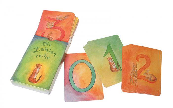 Carduri pentru invatat numerele varianta 1 2