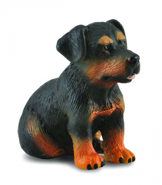 Catelus Rottweiler - Animal figurina [0]