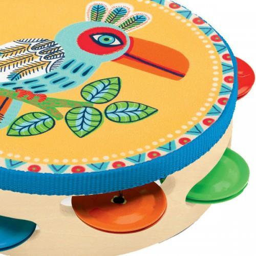 Tamburina pentru copii - Joaca cu sunete 0