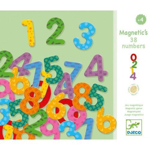 Cifre magnetice colorate pentru copii 1