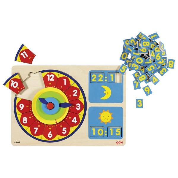 Ceas puzzle Analog-Digital [1]