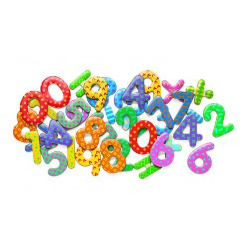 Cifre magnetice colorate pentru copii 0