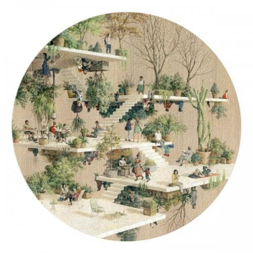 Puzzle circular 1