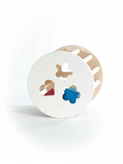 Cilindru cu forme, jucarie handmade Marc toys [3]