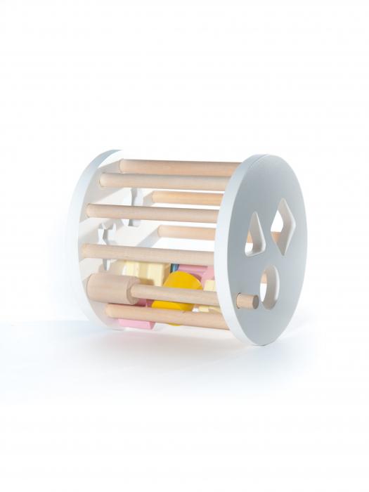 Cilindru cu forme, jucarie handmade Marc toys [2]
