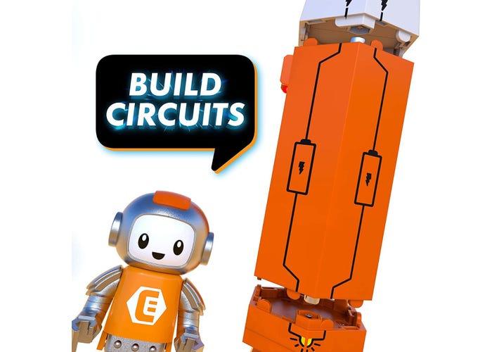 Set constructie STEM invatare circuite: Circuit Explorer - Racheta 2