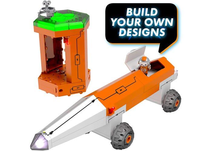 Set constructie STEM invatare circuite: Circuit Explorer - Racheta 4