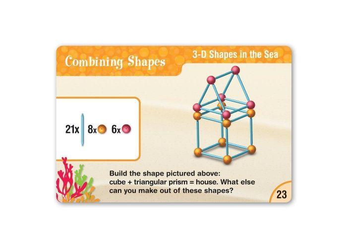 Construieste geometric - Set de construit forme geometrice 4