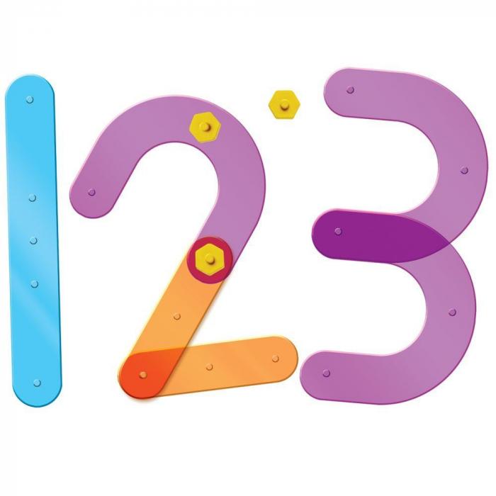 Construieste numere - Set constructie 0