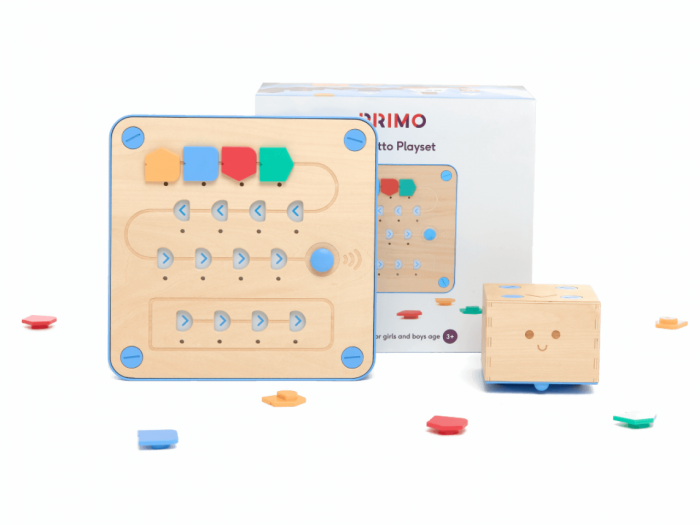 Cubetto - set invatare bazele programarii - certificat Montessori 0