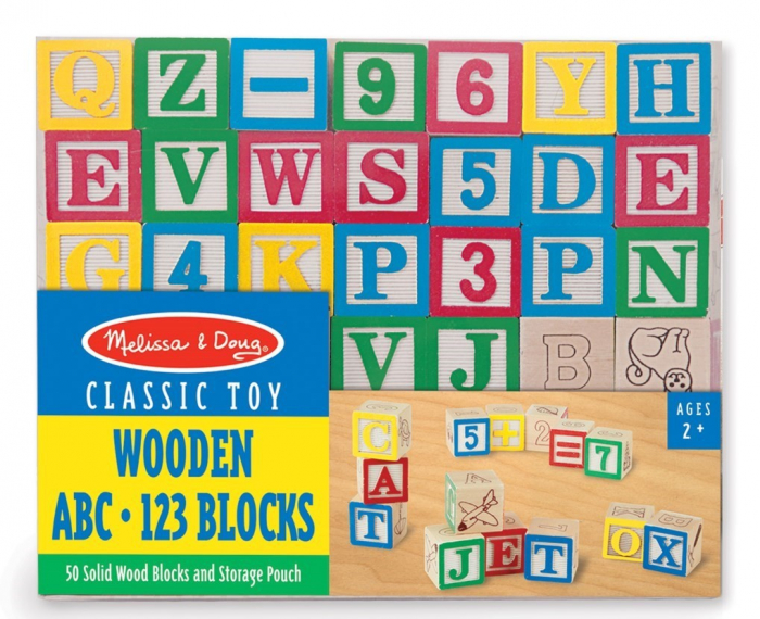 Cuburi litere si numere - 50 buc 2