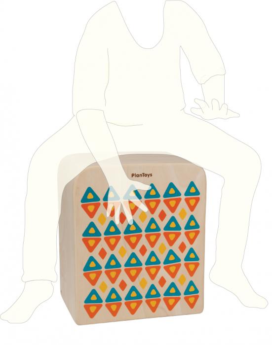 Cutia cu ritmuri - Toba tip Cajon 2