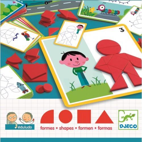 Eduludo - joc cu forme geometrice 1
