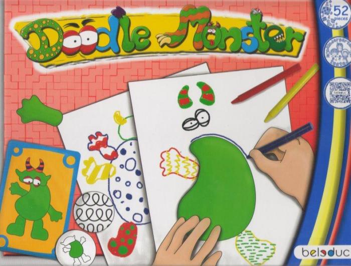 Deseneaza-l pe Bau Bau - set creativ 2