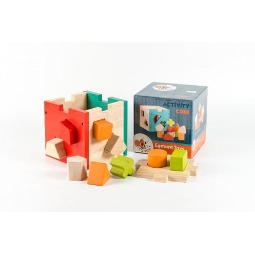 Cub montessori cu forme si culori 0