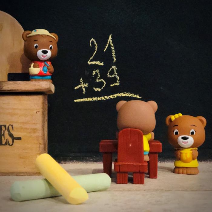 Familia de ursuleti Browny - Set figurine joc de rol [5]