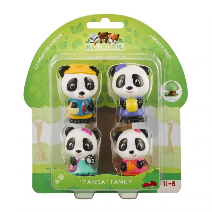 Pachet tematic Klorofil - Casuta din aluna si Familia Panda - Joc de rol si dezvoltare imaginatie [1]