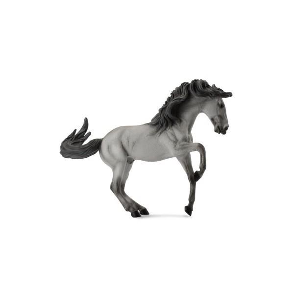 Armasar Cenusiu Lusitano XL - Animal figurina [0]