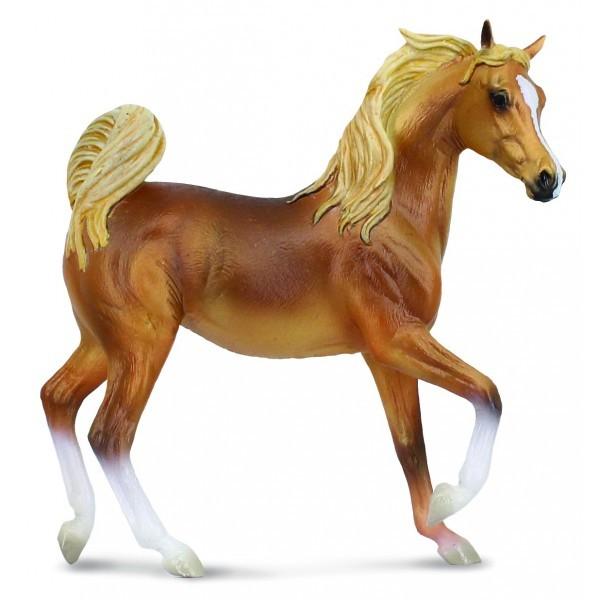 Cal auriu Chestnut XL - Animal figurina [0]