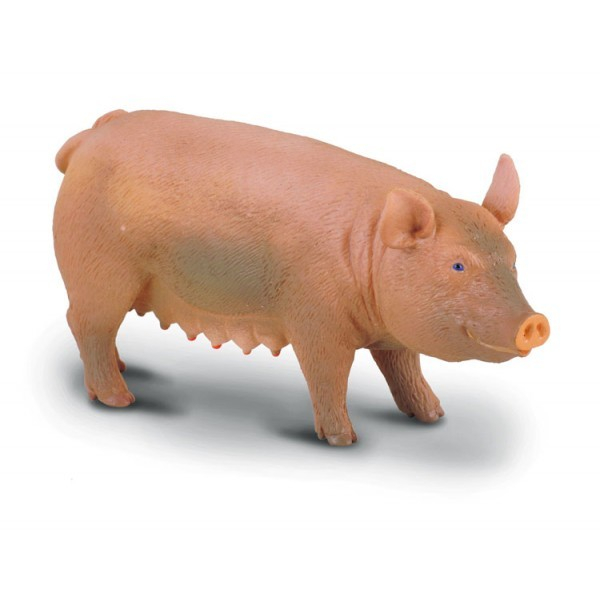 Purcica M - Animal figurina 0