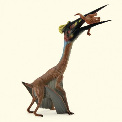 Quetzalcoatlus cu prada XL - Animal figurina 0