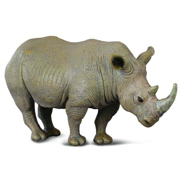 Rinocer alb L - Animal figurina [0]
