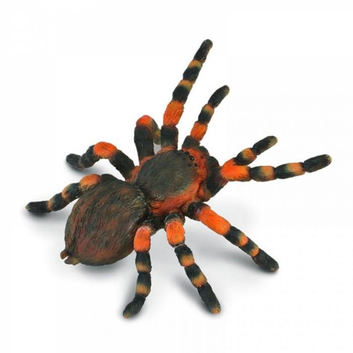 Figurina Tarantula Mexicana cu genunchi rosii 0