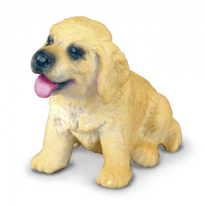 Golden Retriever Pui S Animal figurina 0