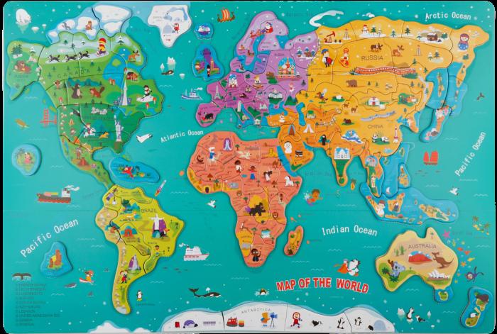 Harta lumii mare 7