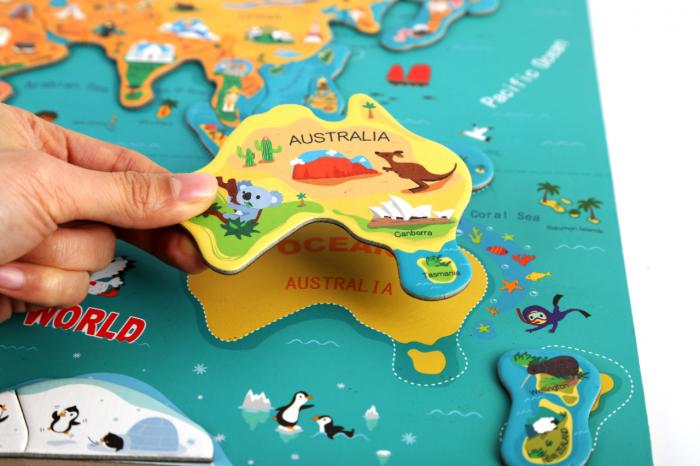 Harta lumii mare 6
