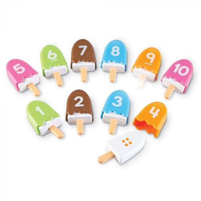 Inghetata cu cifre - Numberpops - Set educativ 3