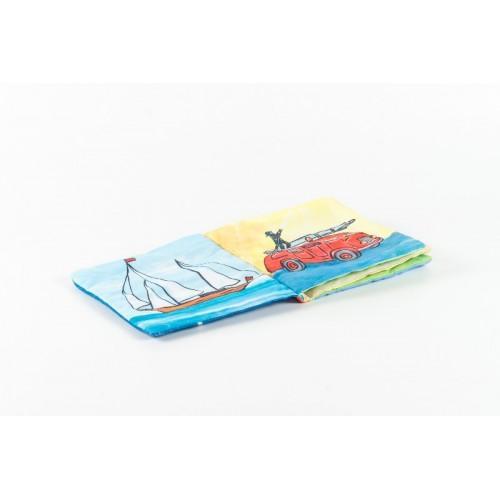 Carte din textil 2