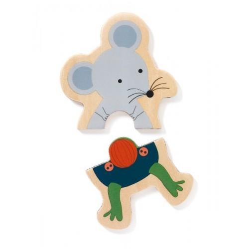 Joc cu magneti - Potriveste animalutul 3