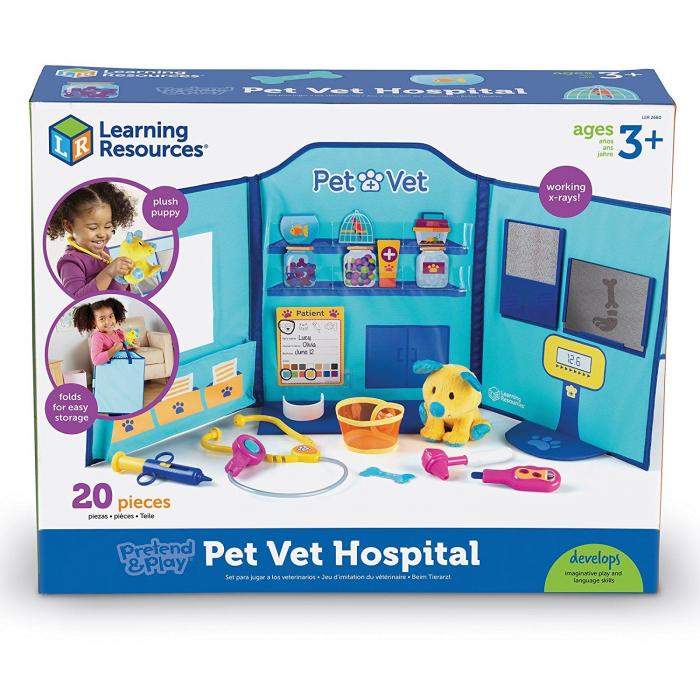Joaca-te si imita - Joaca de-a doctorul veterinar 0